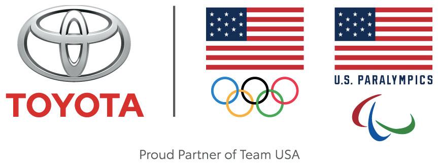 2017 Toyota Olympic Paralymic Logo