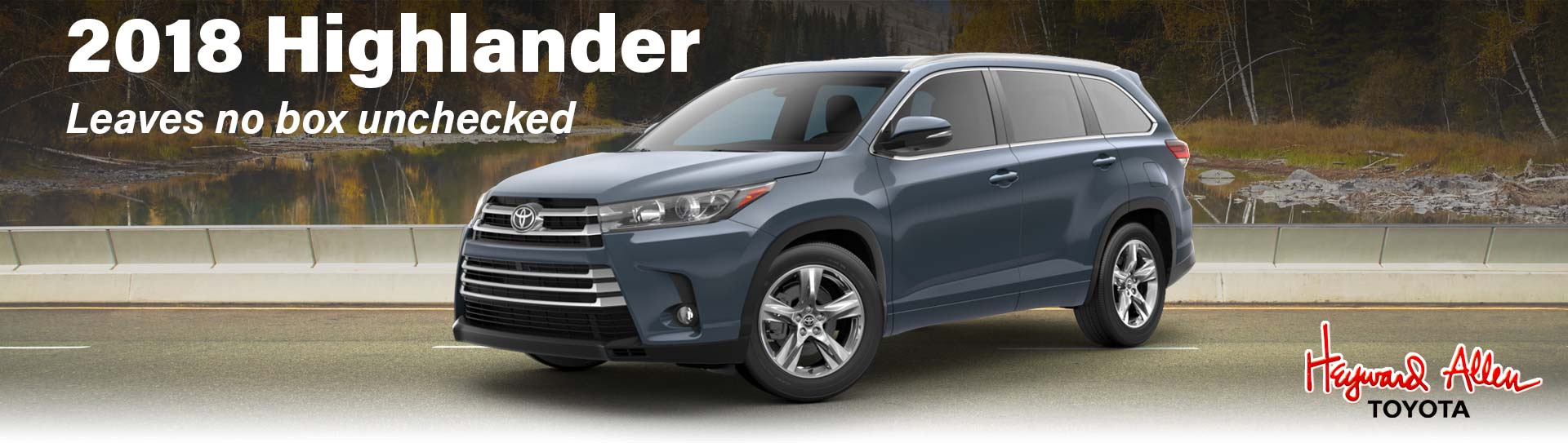 2018 Toyota Highlander comparison
