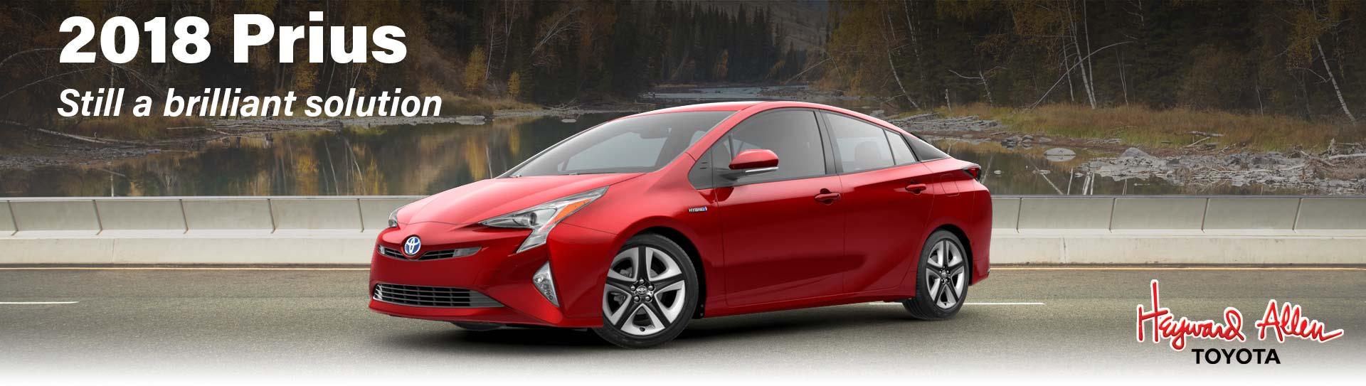 2018 Toyota Prius comparison