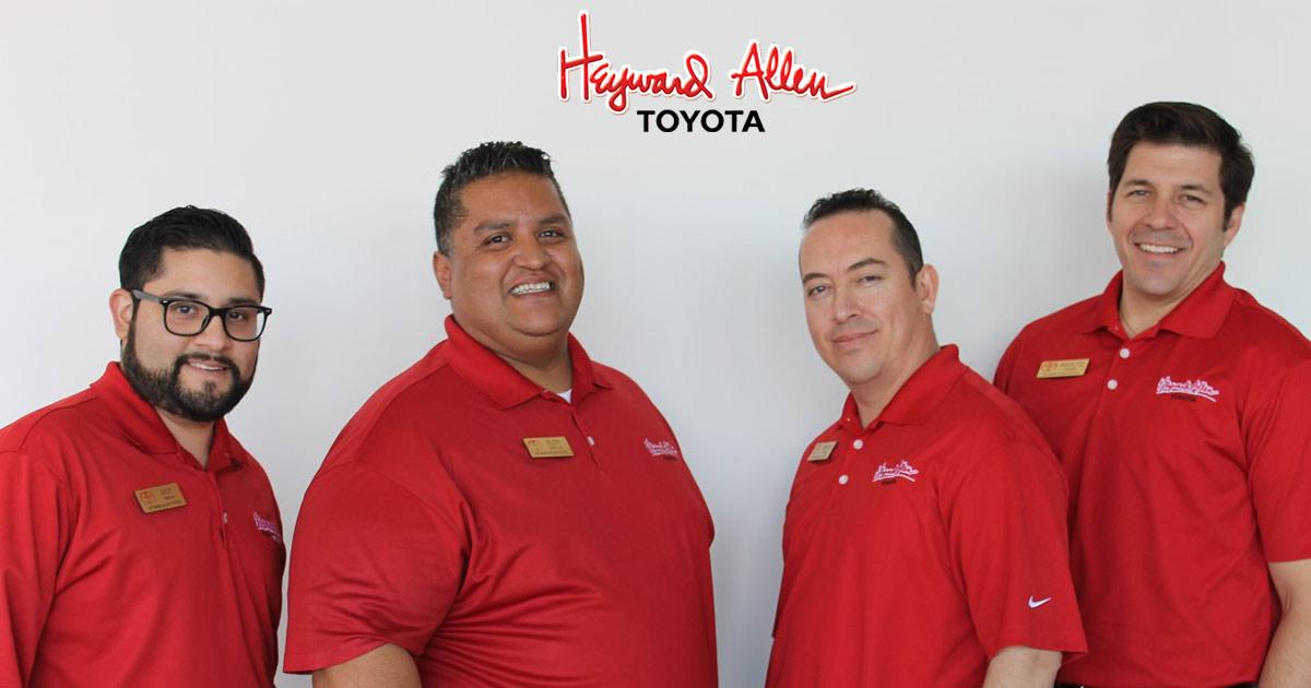 Heyward Allen Toyota Hablamos Espanol - Nuestro Equipo