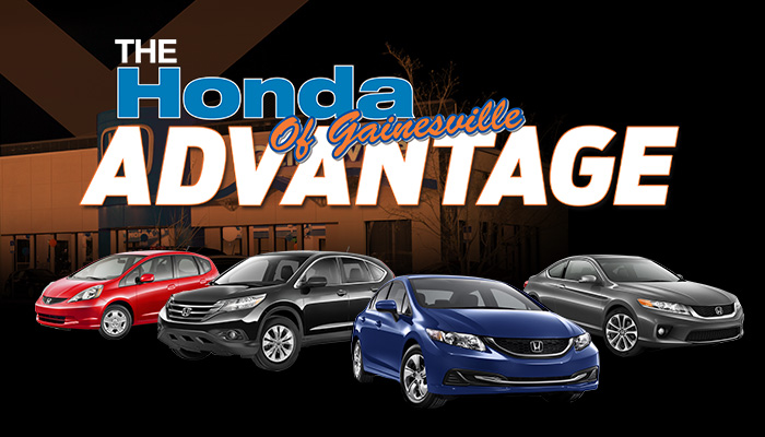 Honda of Gainesville Advantage