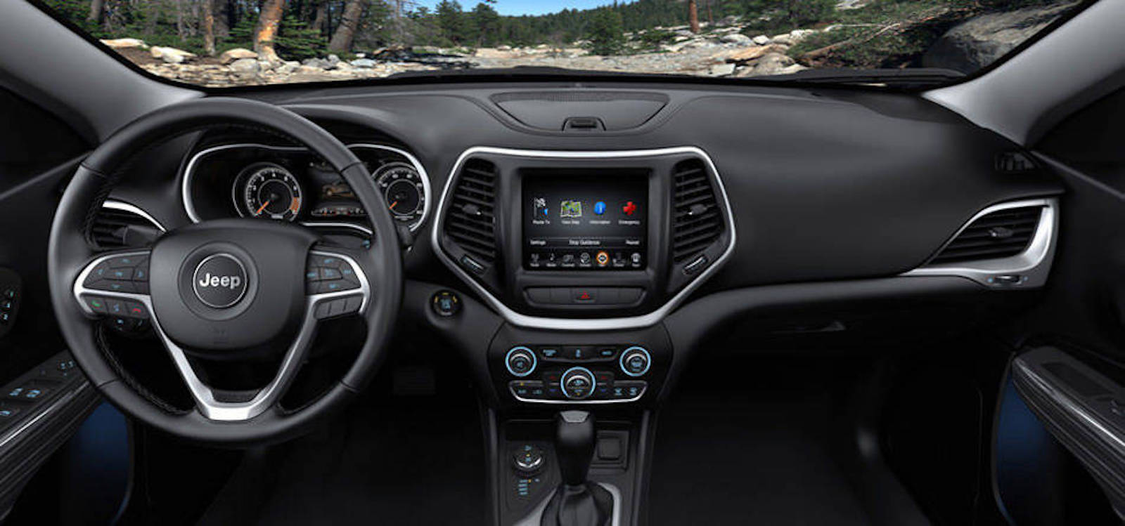 2016 Jeep Cherokee Technology