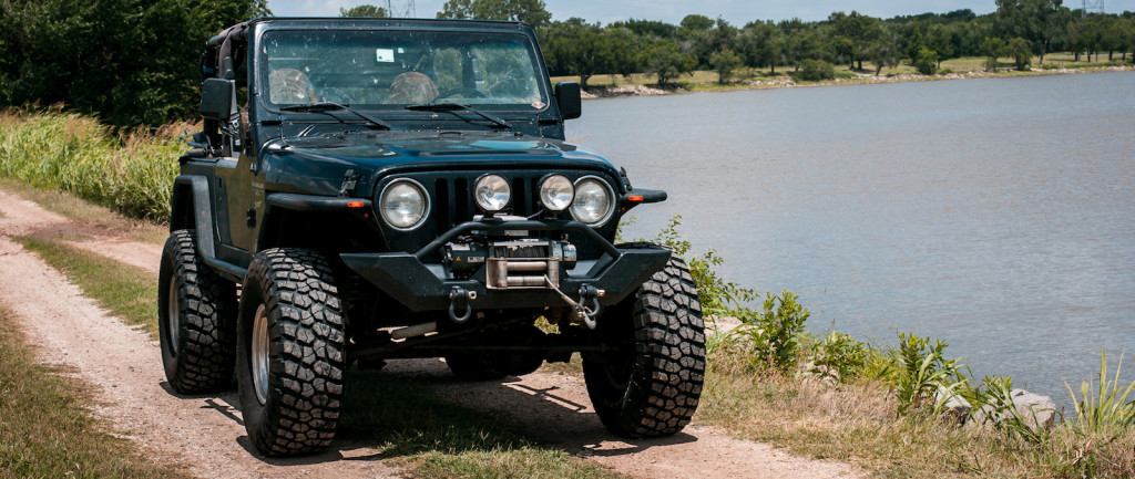 Lifted Jeep 1