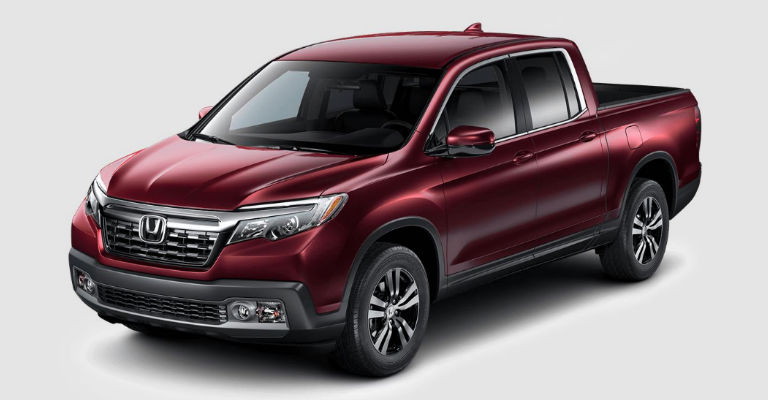 What are the exterior color options for the 2017 honda for 2017 honda ridgeline configurations