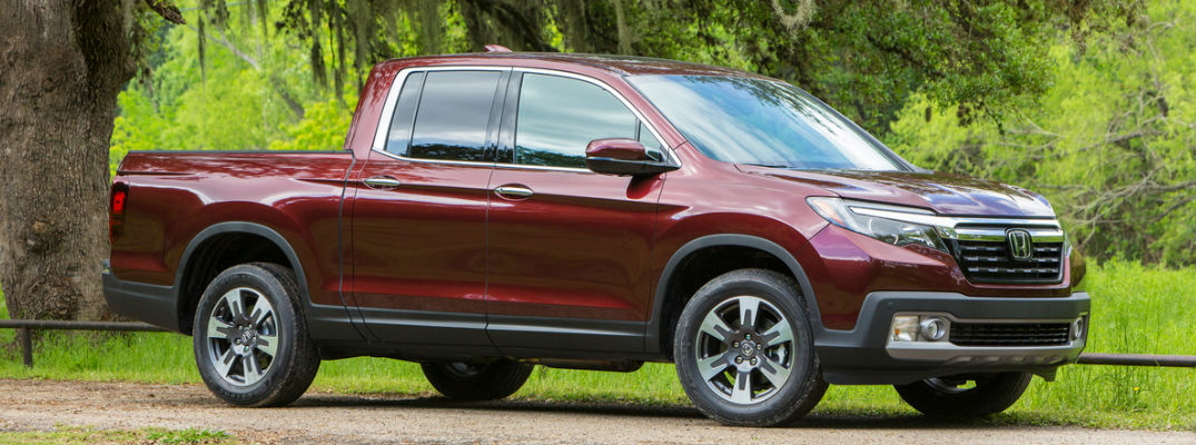 What Are The Exterior Color Options For The 2017 Honda Ridgeline Kuhn Honda