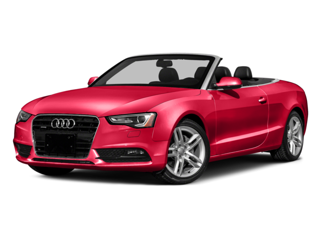 red 2017 A5 Cabriolet