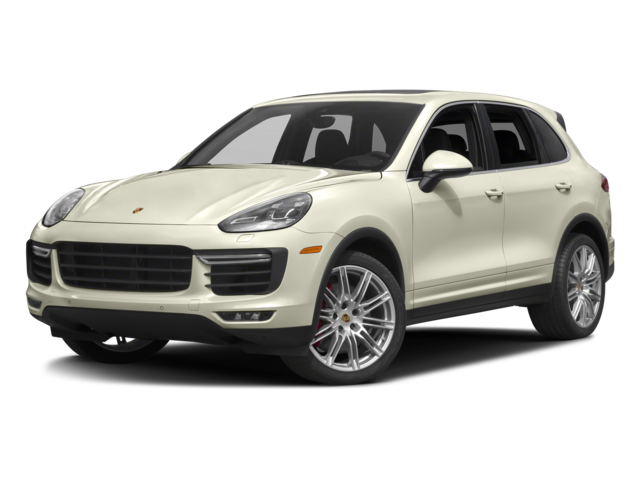 cream 2017 Porsche Cayenne Turbo S