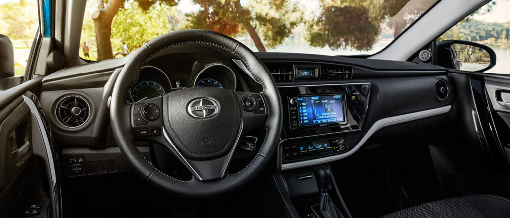 2016 Scion iM interior dashboard
