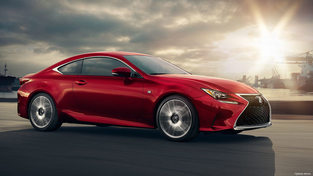 2017 Lexus RC red