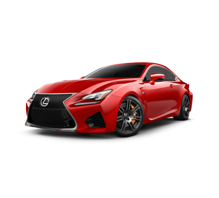 2017 Lexus RC F red