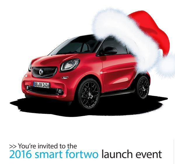 smart fortwo launch event