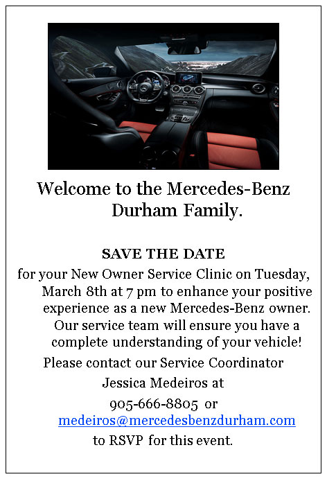 New Owner Service Clinic