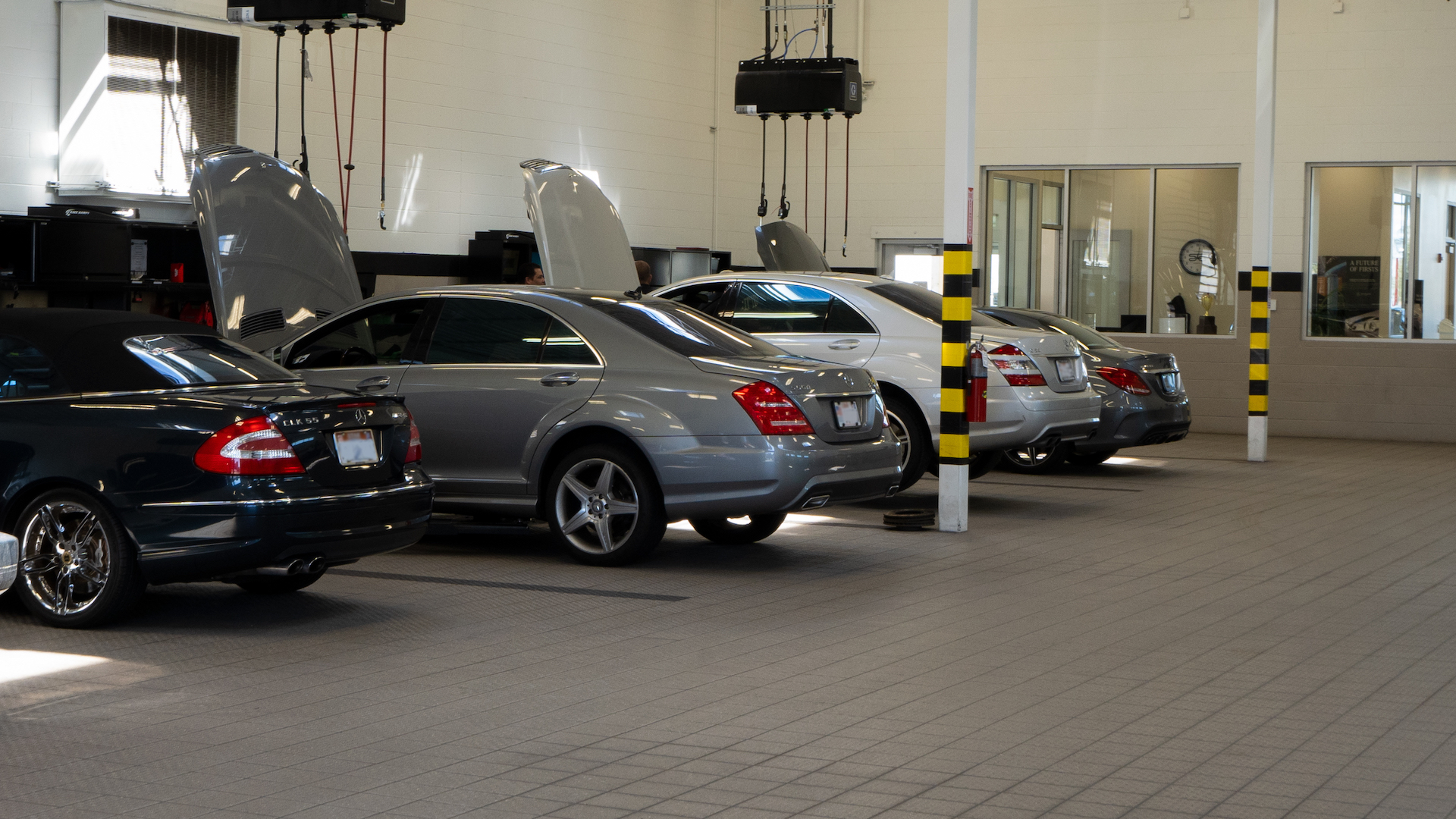 Mercedes-Benz of St. George Customer Waiting Room