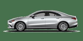 Silver Mercedes-Benz CLA