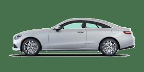 White Mercedes-Benz E-Class