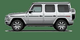 Silver Mercedes-Benz G-Class