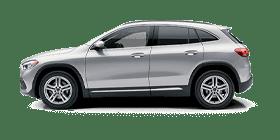 Silver Mercedes-Benz GLA