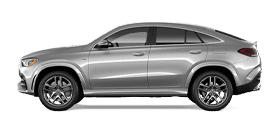 Silver Mercedes-Benz GLE