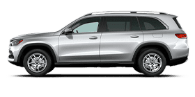 Silver Mercedes-Benz GLS