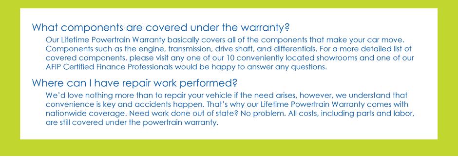 Warranty FAQs