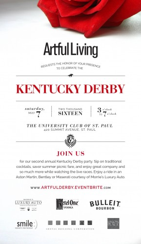 Artful Living Kentucky Derby Party