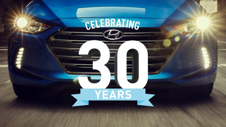 Hyundai Celebrates 30 Years In The United States
