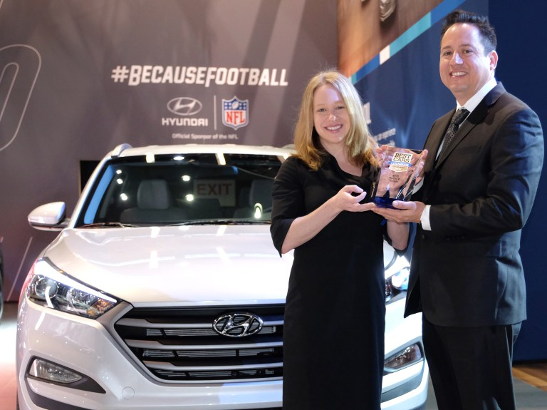 HYUNDAI TUCSON NAMED BEST COMPACT SUV FOR THE MONEY
