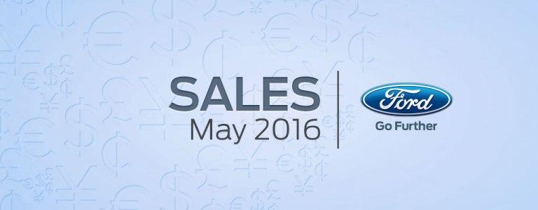 May 2016 Sales