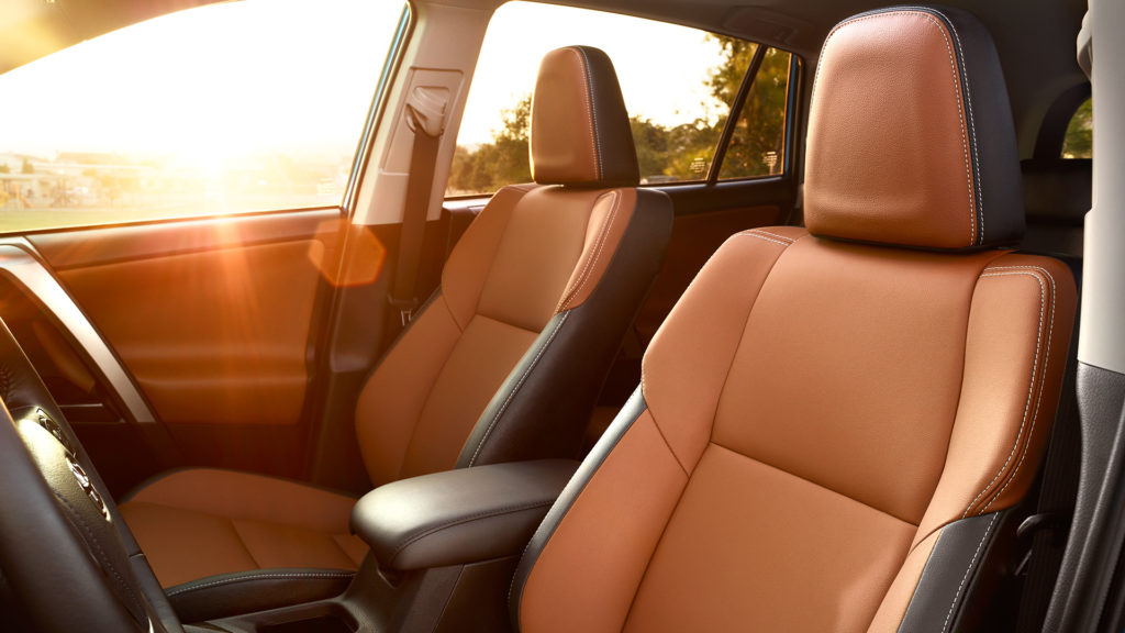 Find Your Comfort Spot In The Interior Of The 2017 Toyota Rav4
