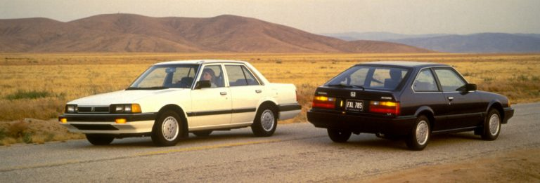 Honda Honors The Iconic Accord With 40 Years Of America In