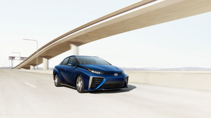 2016 Toyota Mirai - California Carpool Lane