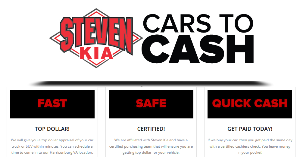 Sell Us Your Car | Steven Kia