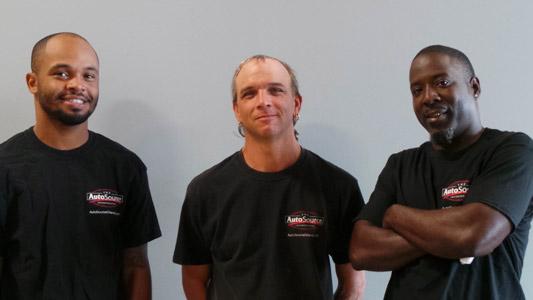 Darrell, Paul, and Corey