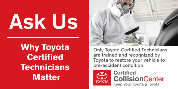 Certified Collision Center >> Collision Center Paintless Dent Body Repair Toyota Escondido